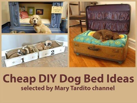 Cheap DIY Dog Bed Ideas