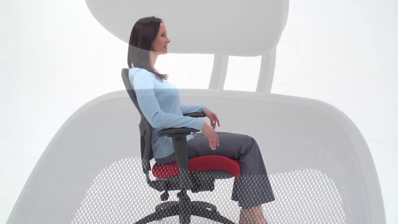 Brezza Mesh Office Chair Relax The Back