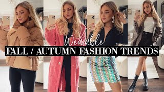 ACTUALLY WEARABLE FALL / AUTUMN FASHION TRENDS & HOW TO STYLE 2021