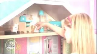 Girls Majestic Mansion Dollhouse With Furniture For Barbie Dolls Kidkraft 65252