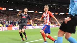 Atletico de Madrid - Arsenal  primera noche mitica en el Wanda metropolitano