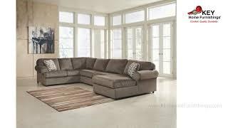 Ashley Jessa Place 3 Piece Sectional 39802R3 | KEY Home