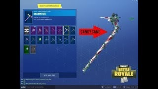 How to get the candy axe pickaxe in fortnite for FREE without getting banned!
