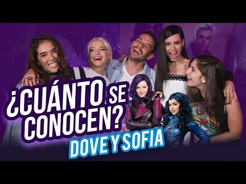 ¿Cuánto se conocen Dove Cameron y Sofia Carson de Descendientes 2? - Nath Campos
