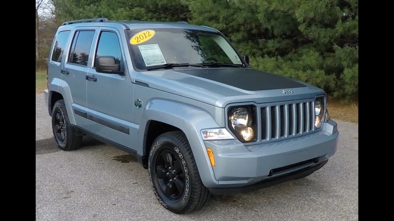 2012 Jeep Liberty Sport Arctic Edition 4x4 18065b Youtube