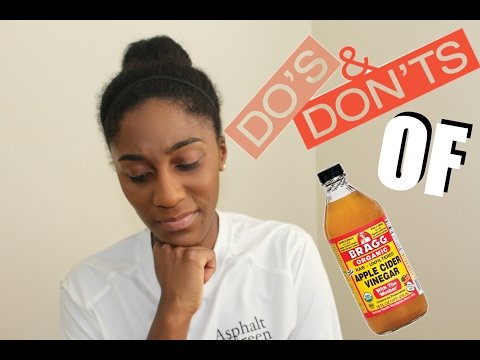 3 Do's and Don'ts of Apple Cider Vinegar