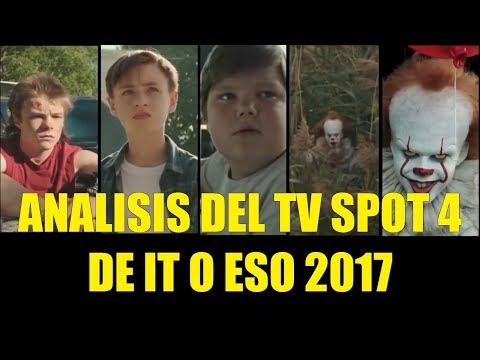 Analisis del Tv SPot 4 de IT o ESO 2017 Cuadro a Cuadro Referencias y Curiosidades