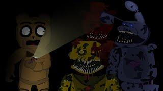 Freddy's meets Nightmare Animatronics ( Comic Animation )