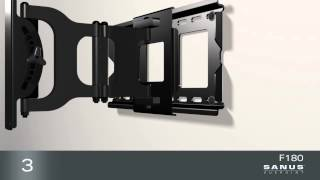 How To Install Your SANUS VuePoint F180 TV Mount