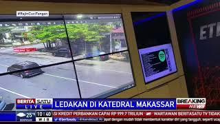 Rekaman Detik-detik Ledakan di Gereja Katedral Makassar