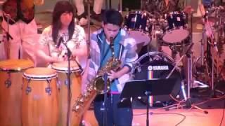 第4回目の東日本大震災復興支援チャリティーコンサート。 中学生のサキ...