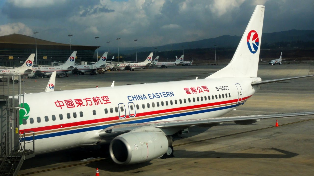 Kunming Shanghai With China Eastern Airlines Boeing 737