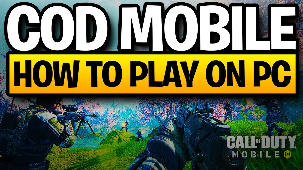 HOW TO PLAY COD MOBILE BR ON PC & BEST SETTINGS -