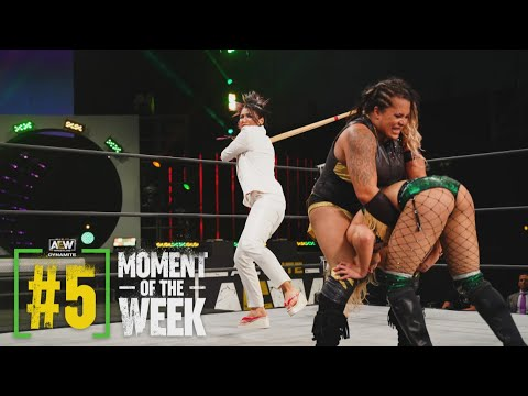 Tay Conti and Nyla Rose Go to War | AEW Dynamite, 3/24/21
