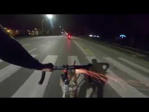 Angry Cyclist Firing Fireworks to Downed Scooter | GTA San Andreas Real Life