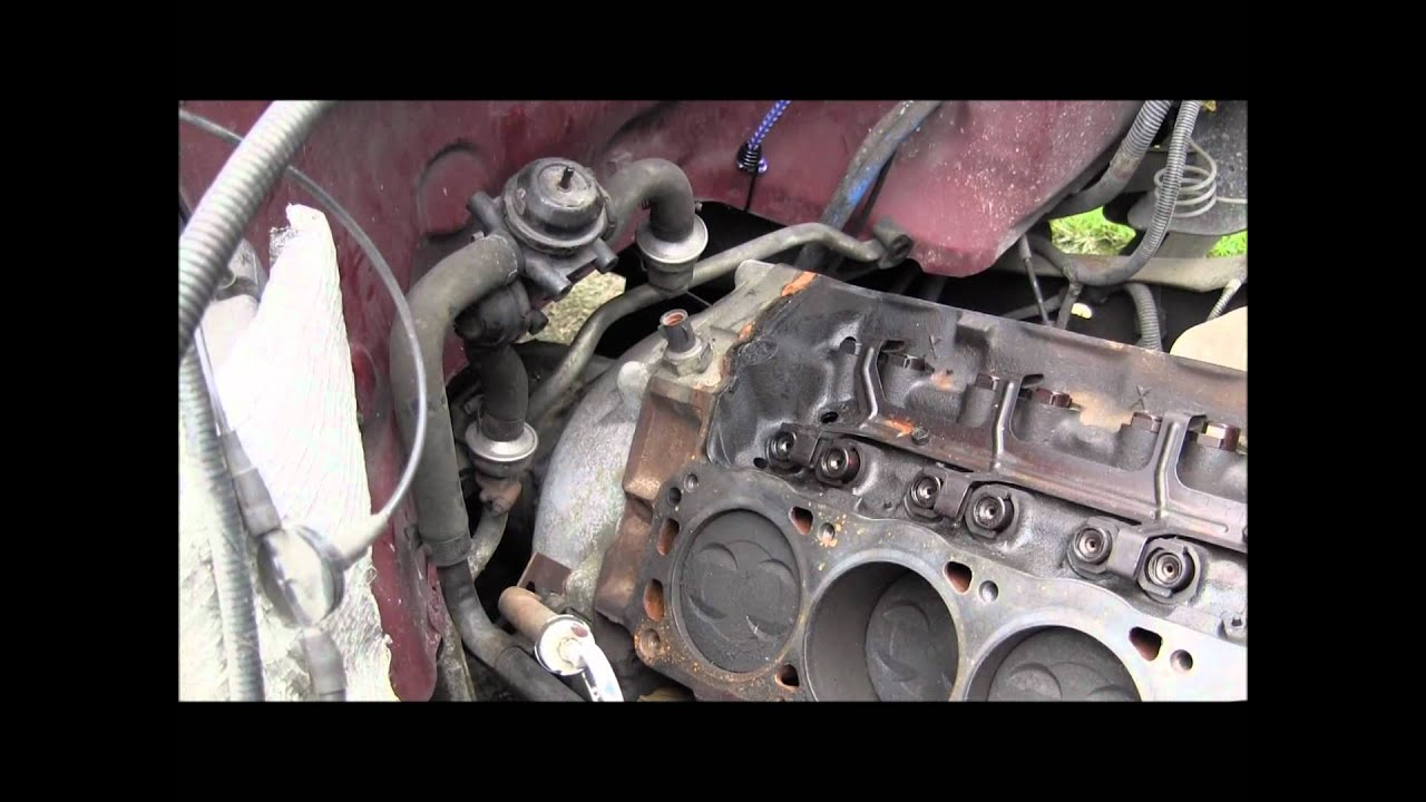 F150 Engine Removal Pt 1 Youtube