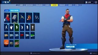 Fortnite New Prodigy Skin and Tabulator BackBling Showcase | Free PlayStation Plus Celebration Pack