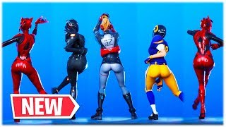 *NEW* INFECTIOUS DANCE EMOTE SHOWCASED WITH THICC SKINS ❤️ Fortnite Shop