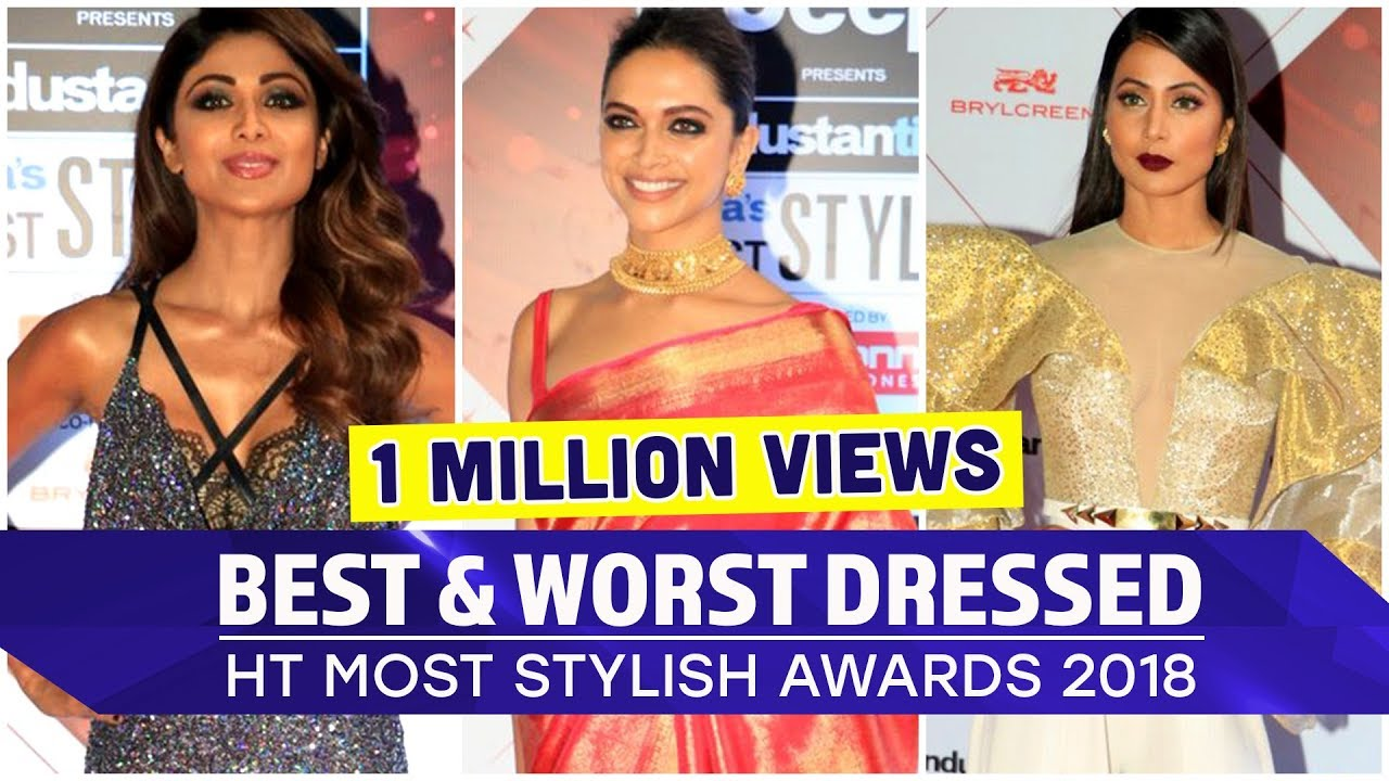 Deepika Padukone, Hina Khan, Shahid Kapoor: HT Most Stylish 2018 Best and Worst Dressed