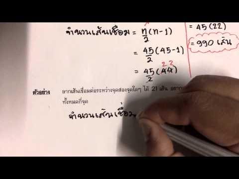 การบทประยุกต์ 2 ตอนที่ 14 : คณิตเพิ่มเติม ม.1