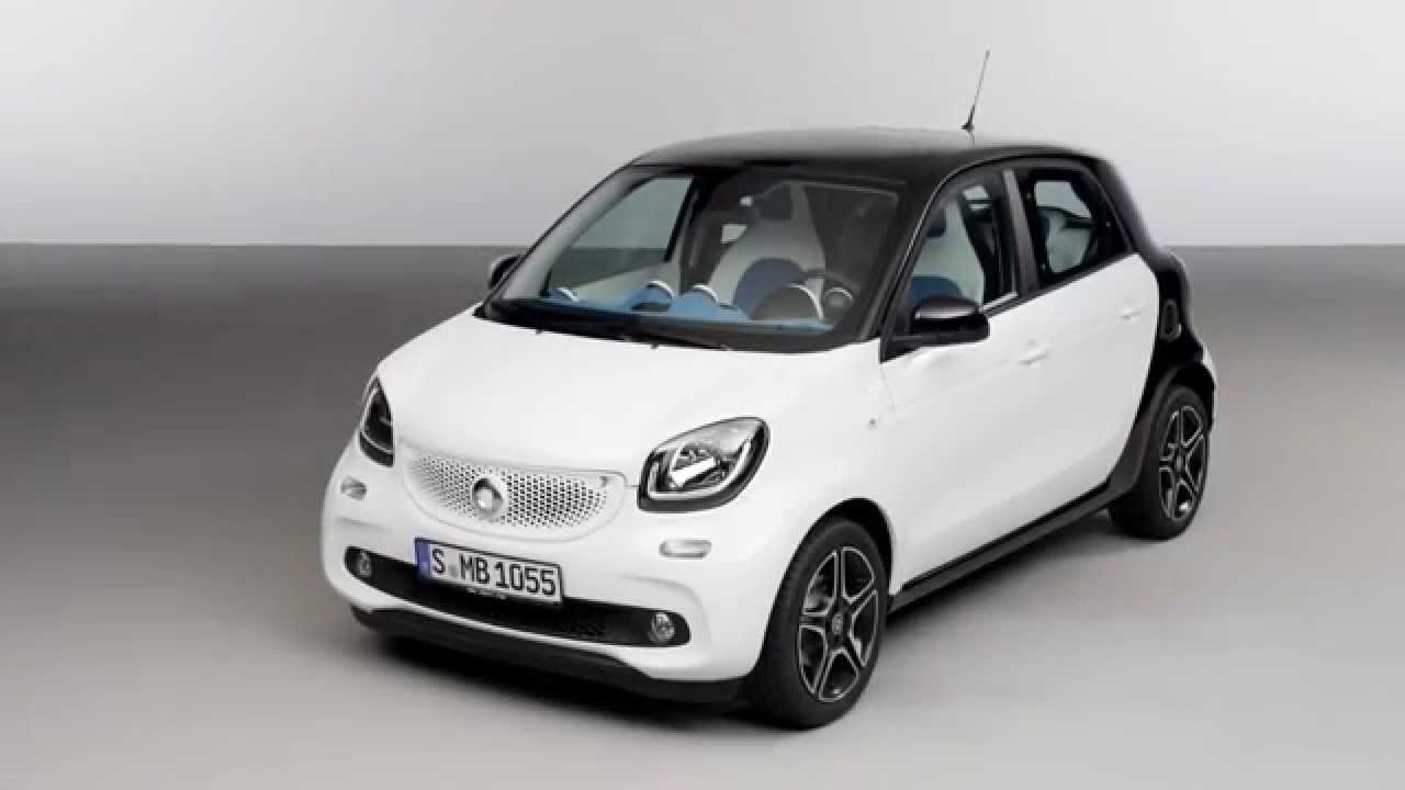 2015 mercedes benz smart forfour exterior and interior for Smart car mercedes benz
