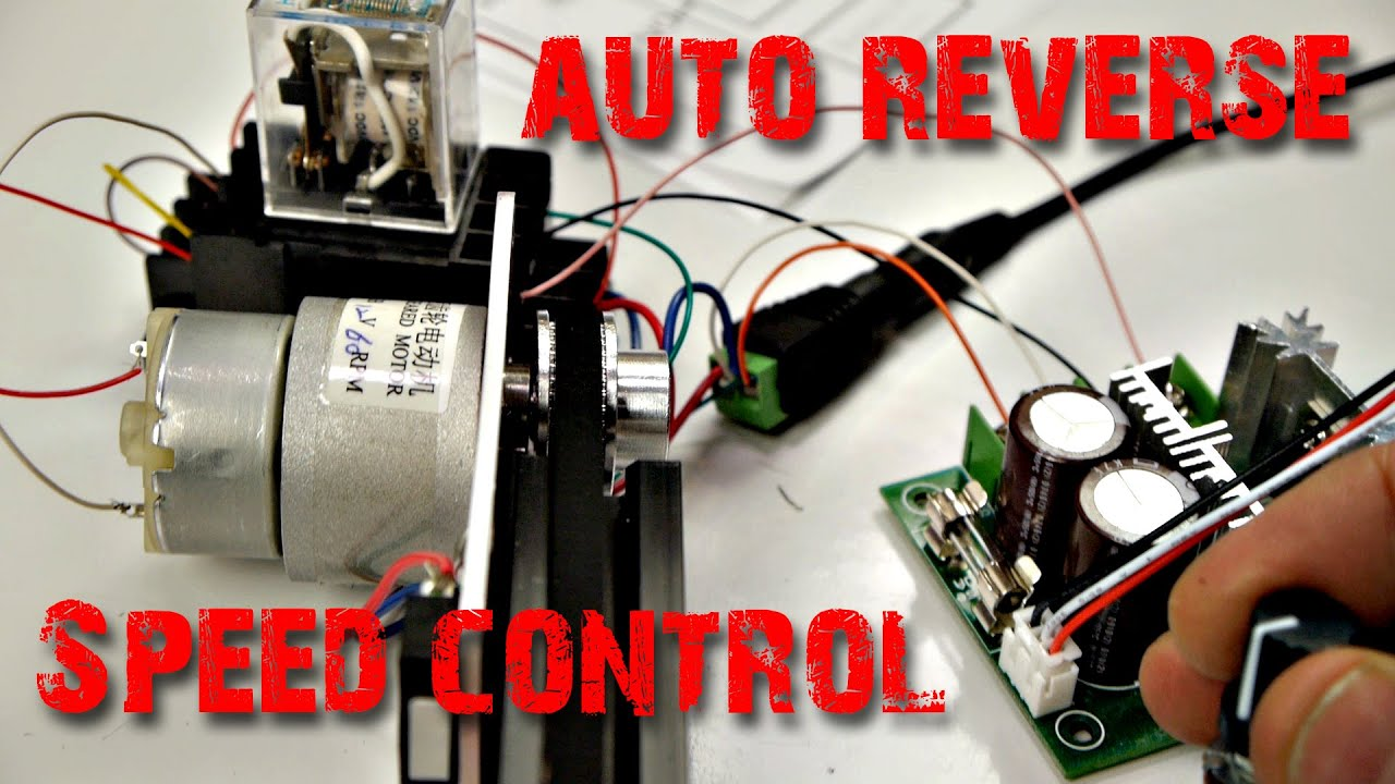 Camera Slider How To Wire Auto Reversing Speed Control Youtube My 12v Dc Motor Electrical Engineering Stack Exchange