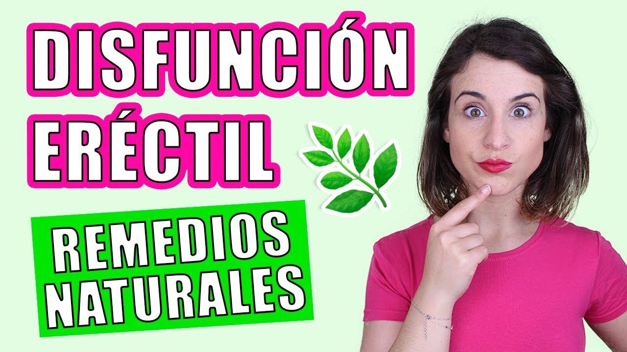medicina natural para la disfuncion erectil
