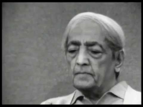 Is suffering needed to face the necessity to change? | J. Krishnamurti