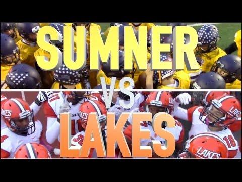 Lakes Vs  Sumner  : HSFB Washington : UTR Highlight Mix 2015