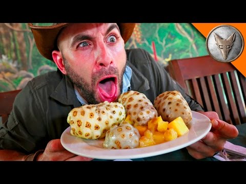 PUKE Fruit Challenge! GROSS!