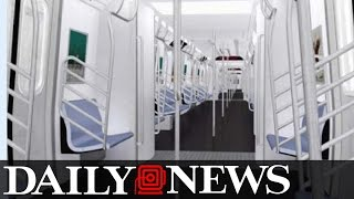 MTA Unveils Subway Car of the Future