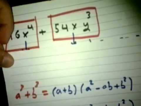 حل معادلات كثيرات الحدود ثاني ثانوي