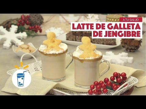 ¿Cómo preparar Latte de Galleta de Jengibre? - Cocina Fresca