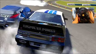 Forza 6 GoPro Can We Drift With Drag Tires? VL Commodore Online RWD Lobby