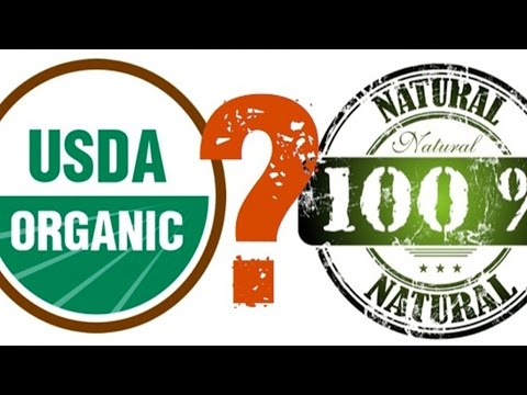 What is the difference between All Natural and Organic?