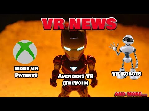 VR NEWS: More Xbox VR Patents Triple Quests Battery life (VRNRGY), Cleaning VR Robots and More
