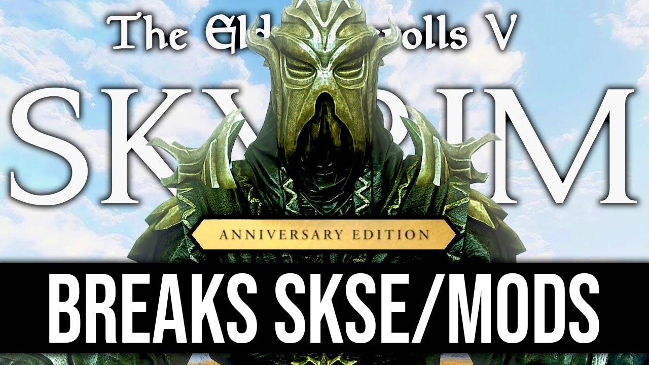 Download Skyrim AE Update Will BREAK Your Mods, How to Prepare! (PSA)