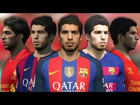 Luis Suarez From FIFA 07 To 17