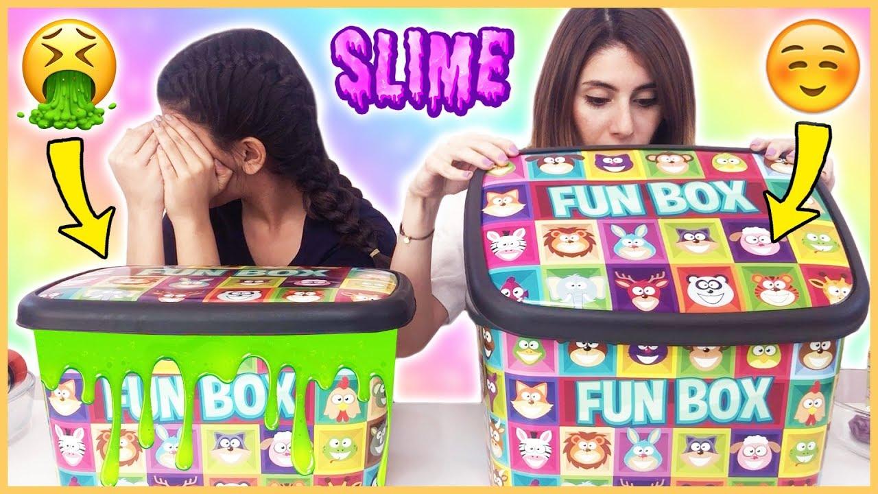 Kutudan Ne Çıkacak Slime Challenge Çöplük Slaym Dila Kent