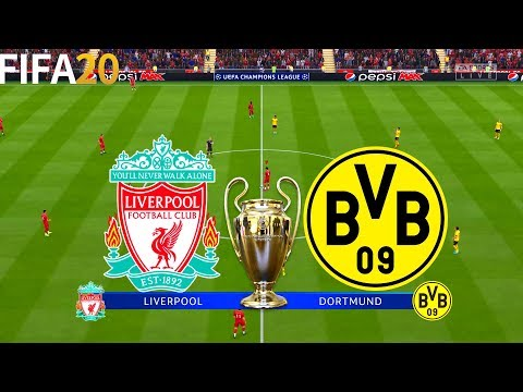 FIFA 20 | Liverpool vs Borussia Dortmund - Champions League - Full Match & Gameplay