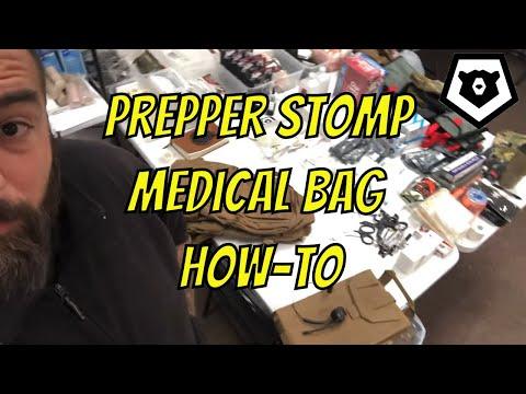 Prepper STOMP Medical Bag How-To For SHTF