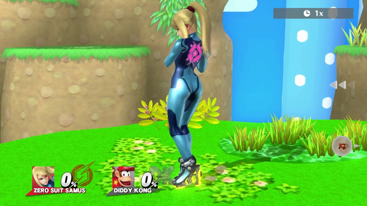 Zero Suit Samus Sexiest Poses In Super Smash Bros Wii U Moh Is
