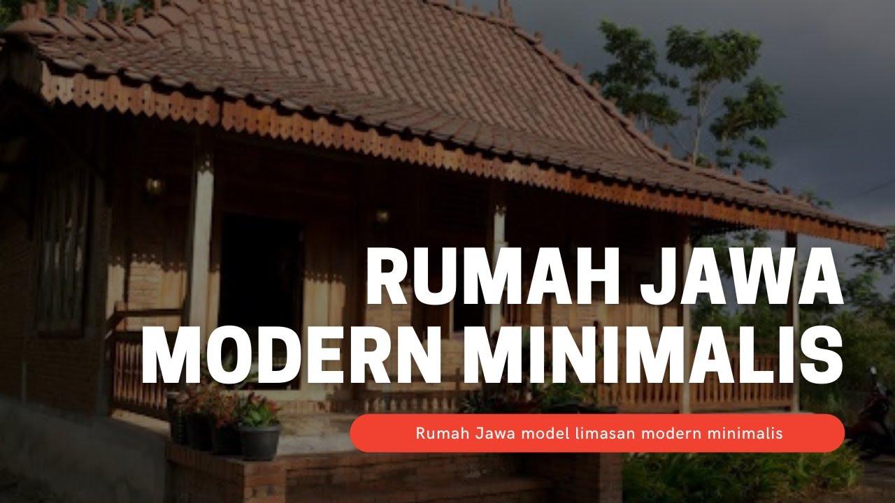 Rumah Jawa Modern Minimalis Youtube