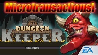 Crazy Microtransactions: FUCK THIS! Dungeon Keeper (iOS)