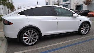 Tesla Model X P100D First Look