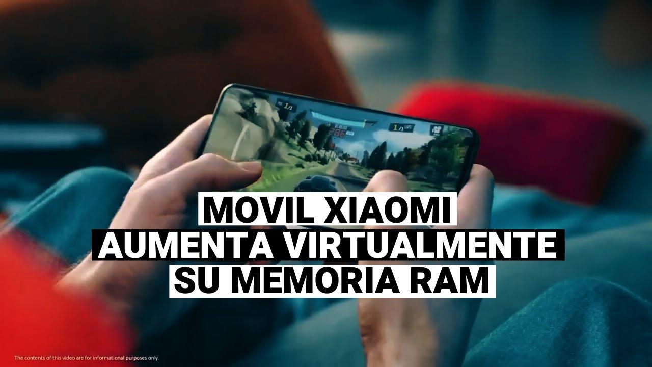 Xiaomi aumenta la memoria RAM de sus celulares con una actualización de software