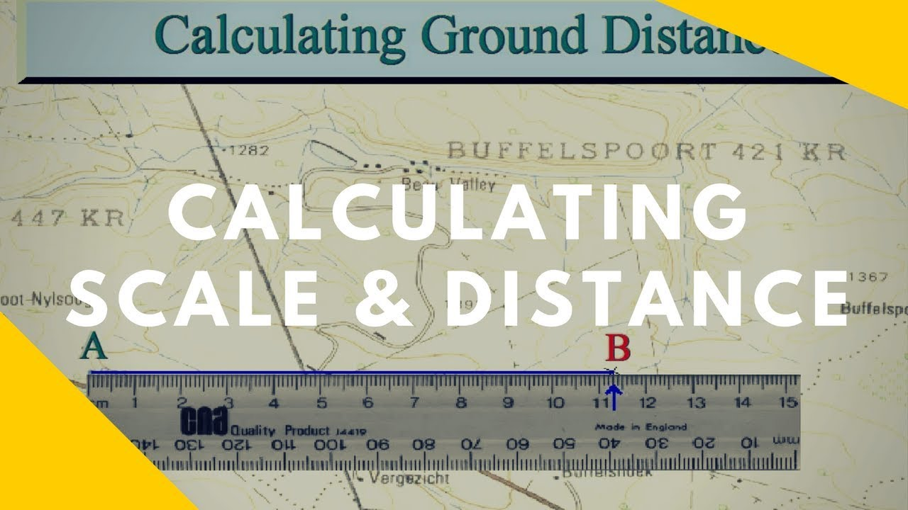 small resolution of How to read Maps - Scale and Distance (Geography skills) - YouTube