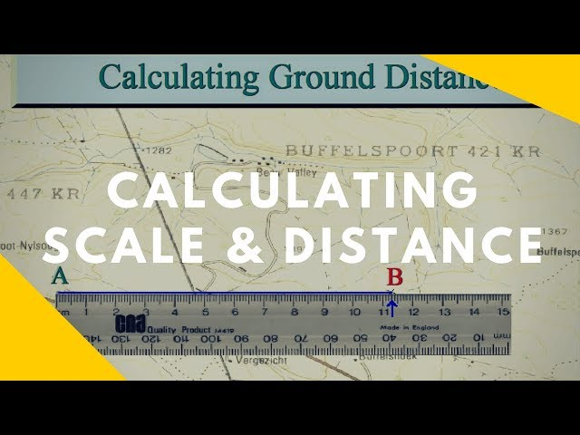 How to read Maps - Scale and Distance (Geography skills)