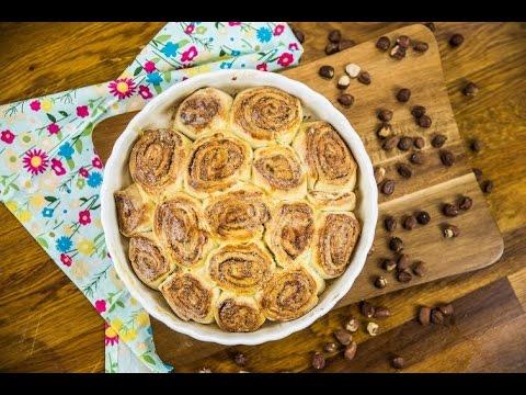 Kynutý koláč ze skořicových šneků