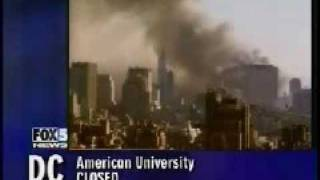 Gambar cover WTC7 collapse reported before it happens 9/11